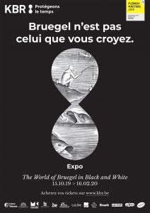 Affiche de l'expo 'The World of Bruegel in Black and White'